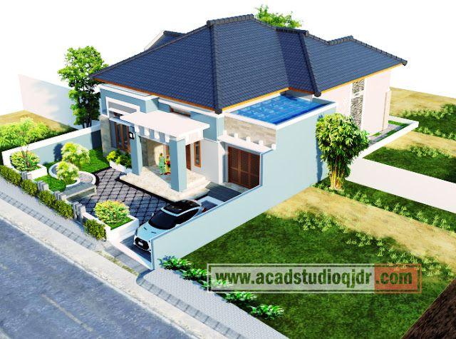 Desain Rumah Elegan Aceh - Jasa Desain Rumah