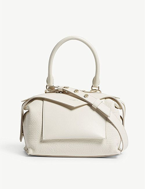 GIVENCHY Sway leather shoulder bag - Sale! Up to 75% OFF! Shop at Stylizio for women's and men's designer handbags, luxury sunglasses, watches, jewelry, purses, wallets, clothes, underwear #menluxurywatches #woman'swatch