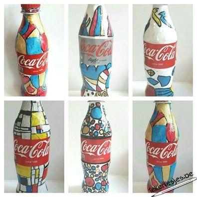 ontwerp je eigen cola flesjes met je klas dit zijn dan echte limited editions