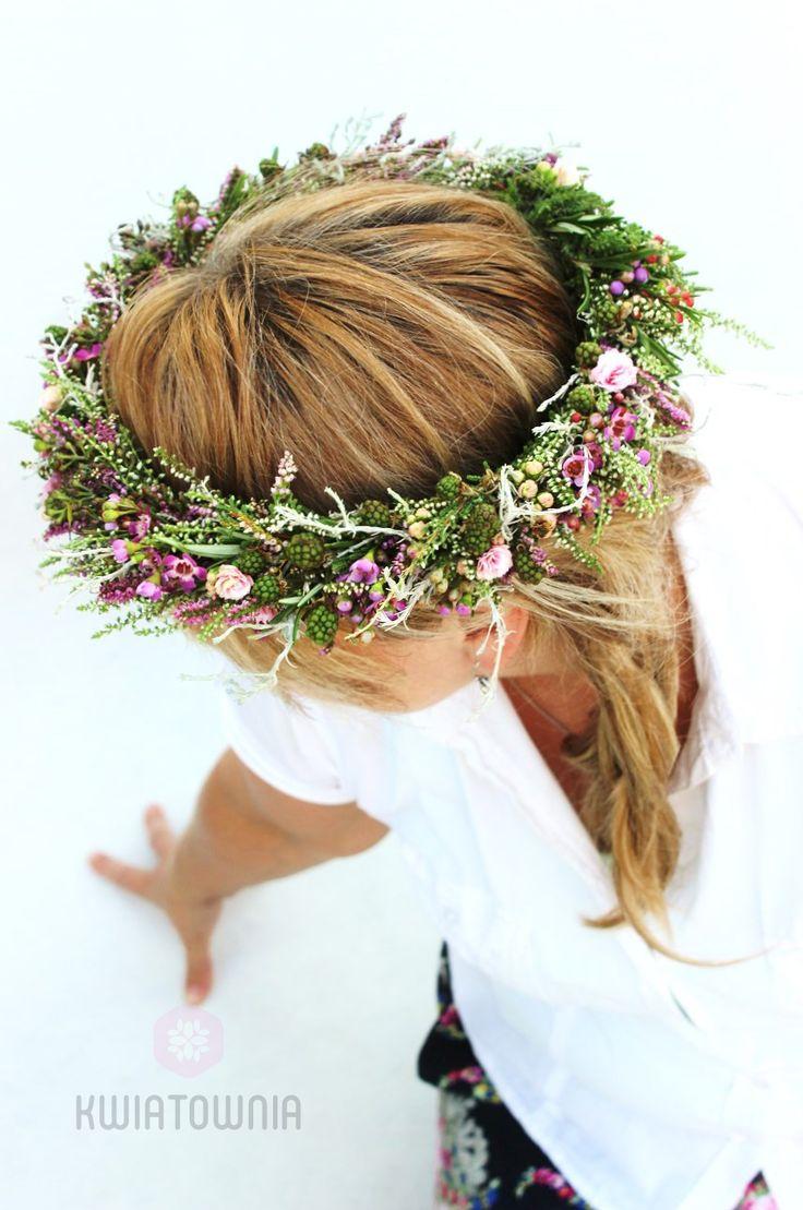 #wreath #slub #wesele #wianki #bride #bridesmaid #instaflowers #love #facebook #instagram #art #floralfashion #moda