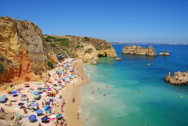 Algarve blue flag beach Portugal