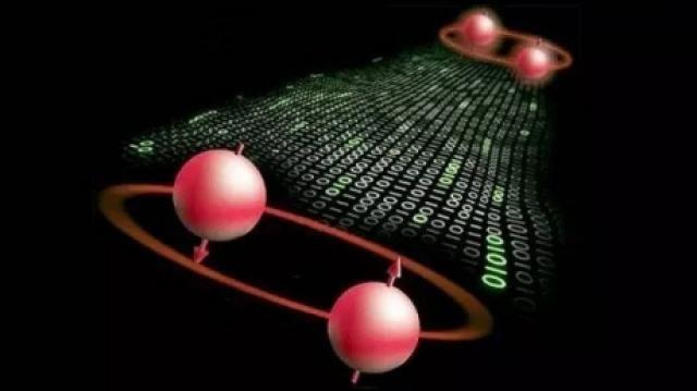 """Cercetarea publicată joi în revista americană Science se sprijină pe proprietățile lumii subatomice, descrise de Albert Einstein, în care particulele pot exista în două stări diferite simultan, ca niște gemeni.  Aceste particule, fotoni sau neutroni, aflate în stare cuantică de """"inseparabilitate"""" (entanglement) se comportă ca o singură entitate chiar dacă ele sunt separate fizic.   #distanta #particule #telecomunicațiil #Teleportarea cuantică"""