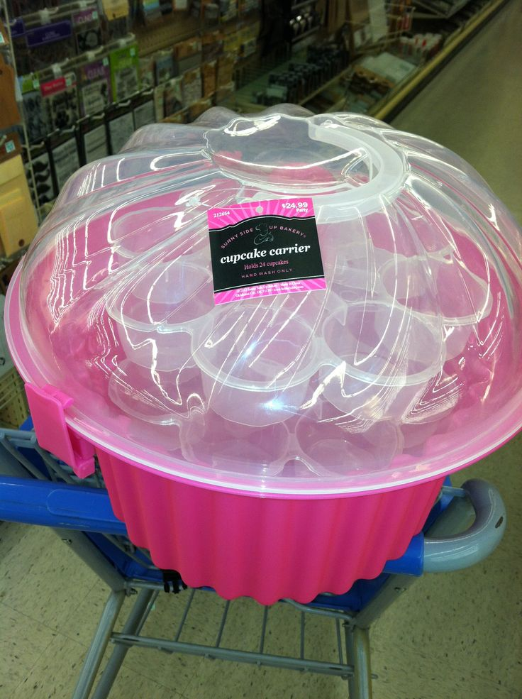 24- count Cupcake Carrier at Hobby Lobby $24.99