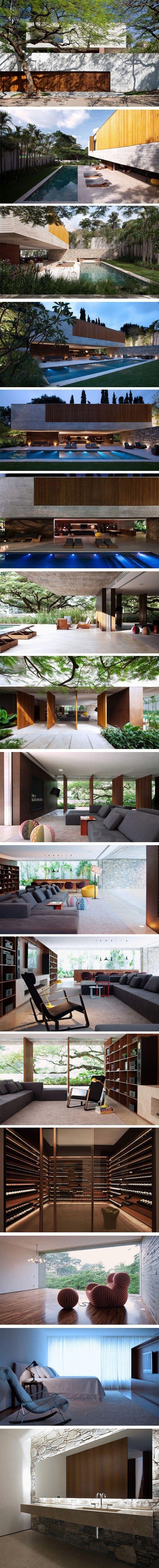 nice Ipês House par StudioMK27 - Journal du Design by http://www.danazhome-decor.xyz/modern-home-design/ipes-house-par-studiomk27-journal-du-design/