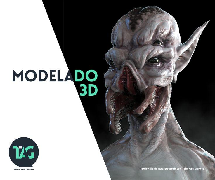 Aprende a modelar personajes en ZBrush y productos en maya.  http://tallerartegrafico.com/course/taller-de-generalista-3d/
