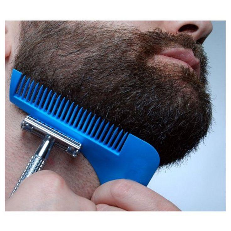 Bro Membentuk Styling Rambut Pemangkas Beard Man Pria Jenggot jenggot pemodelan jenggot Rambut clipper rambut memotong molding Potong Template