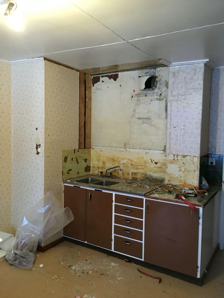 Gammalt kök byggnadsvård