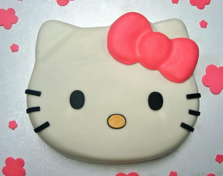 Hello Kitty Cake Ideas | Apron Strings Baking: Crumb Coat Cakes: Hello Kitty!