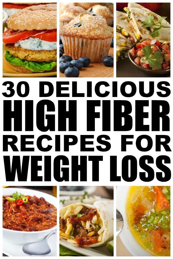 If you're looking for ways to incorporate more fiber into your diet to help you full feel and help you lose weight, check out this collection of quick, easy, and delicious high fiber meals for weight loss. I've included options for breakfast, lunch, and dinner, with a couple of sweet options thrown into each category for cheat days. Enjoy!
