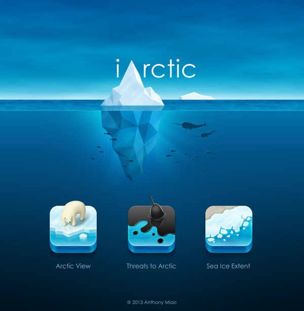 iArctic by Anthony Miao, via Behance