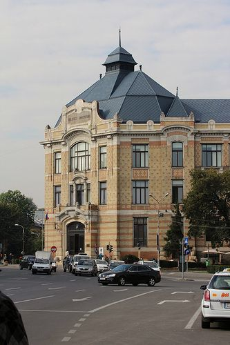 "Biblioteca Centrala Universitara ""Lucian Blaga"" - Cluj-Napoca, Jud. Cluj, Romania - University Library in Cluj"