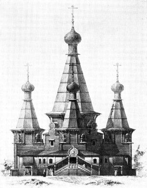 Шатровые церкви - m-der.ru Музей Дерева