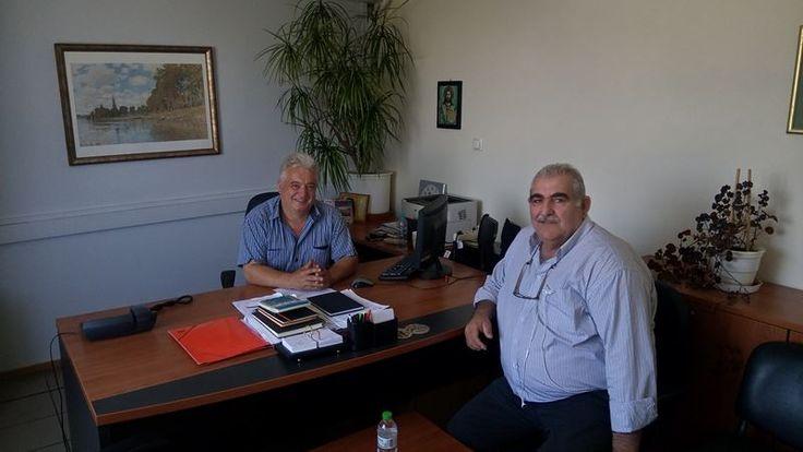Επίσκεψη βουλευτή Ν. Παπαδόπουλου στην Αποκεντρωμένη Διοίκηση Θεσσαλίας