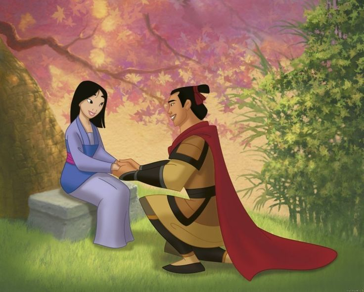 Image result for Mulan and prince