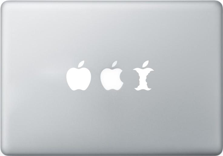 "Vinilo decorativo, stickers, pegatina ""evolution"" para MacBook"