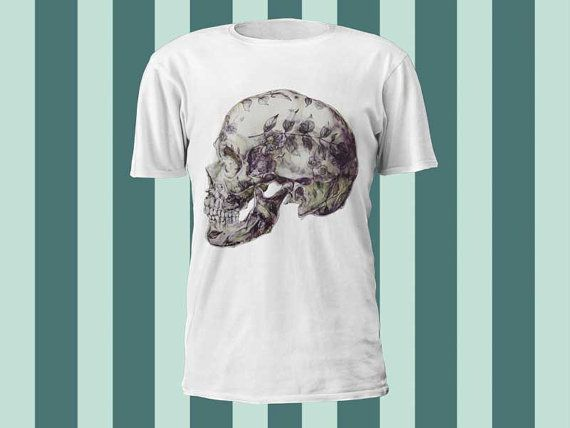 skull a 100 pre shrunk cotton branded Tshirt in a by kaisousashirt, $18.50