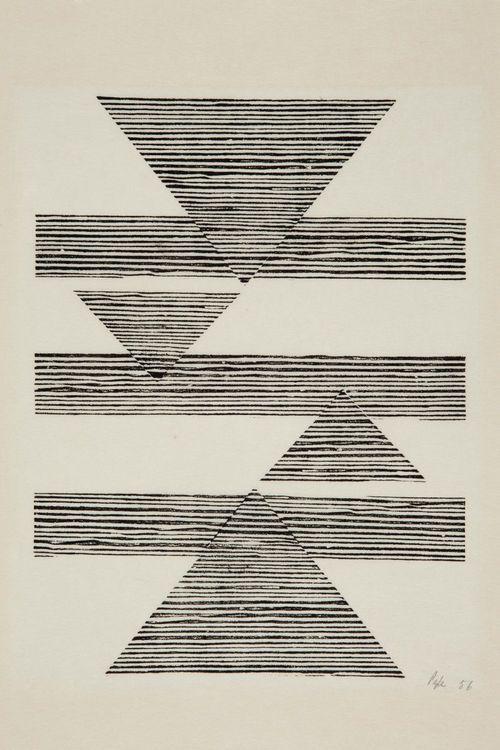 Sem título: Tecelar (Untitled: Weaving) , 1956