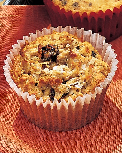 Oatmeal-Raisin Cookie Cupcakes - Martha Stewart Recipes