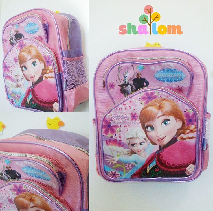 #frozenbags #frozen #kidsbag #elsaandanna #backpack #ransel #schoolbag ransel tk: 12x25x31 cm