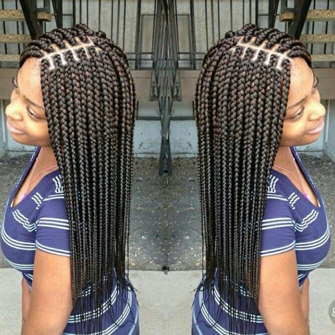 Box Braids Sarahs Studio Box Braids Pinterest Coiffures