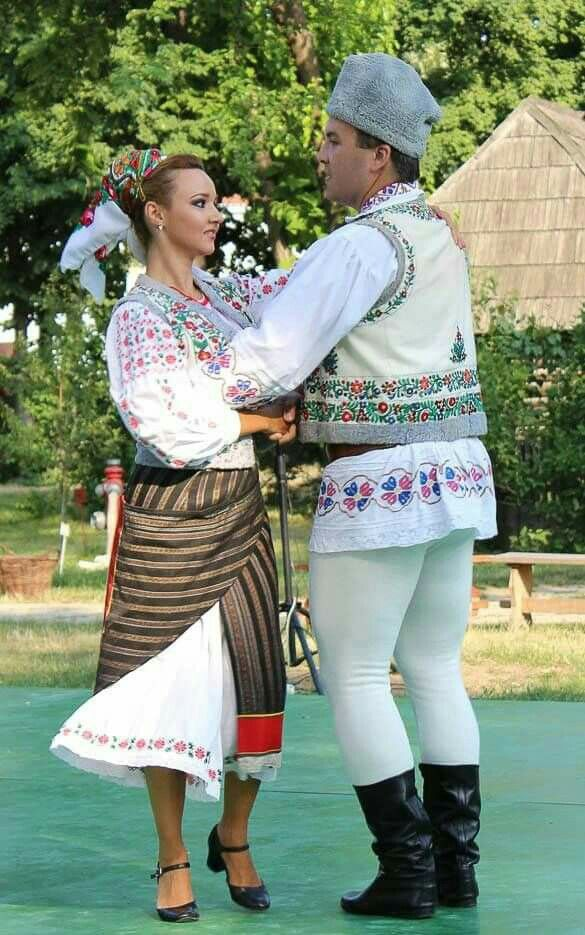 Traditional outfits from Romania