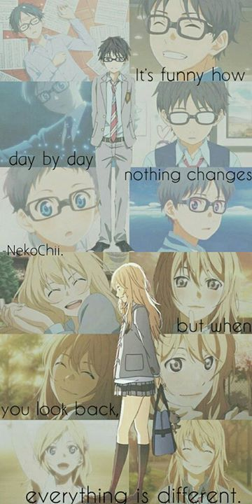 Anime Your Lie in April.