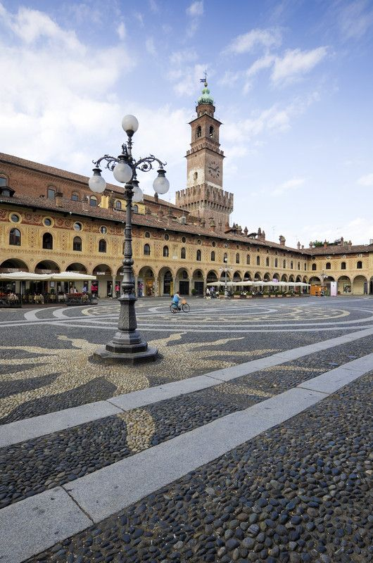 Piazza Ducale, Vigevano, Lombardy, Italy