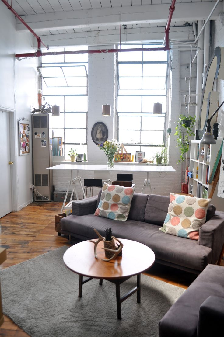 Ryans Artist Loft In Bushwick LoftLiving Room LayoutsHome
