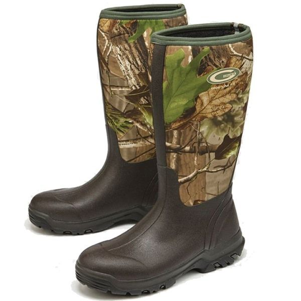 Grubs Frostline Camouflage Wellington Boots with state of the art comfort technology.
