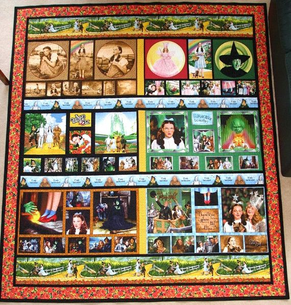 OMG---$600, but it tells the WHOLE story of wizard of OZ and it's a quilt...ugh one day!