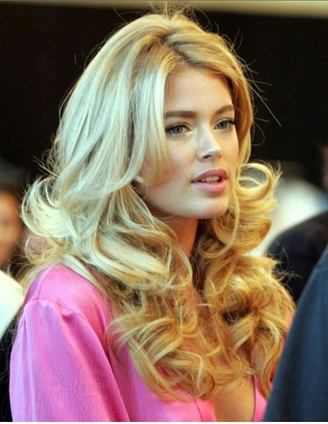 Doutzen- hair perfection