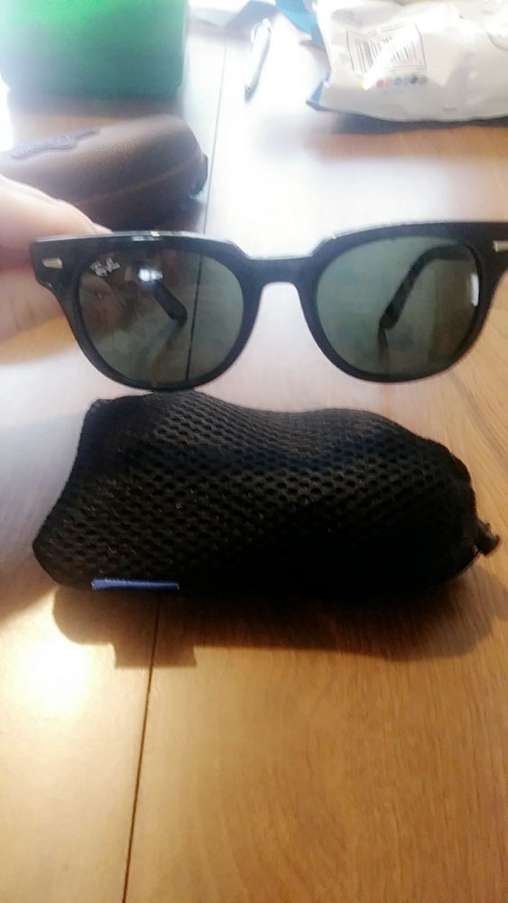 4a72712be2 Ray-Ban Meteor Classic sunglasses black frame and black lenses ...