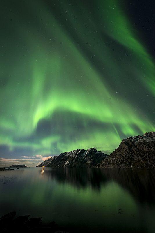 Curtain call, Lofoten, Norway