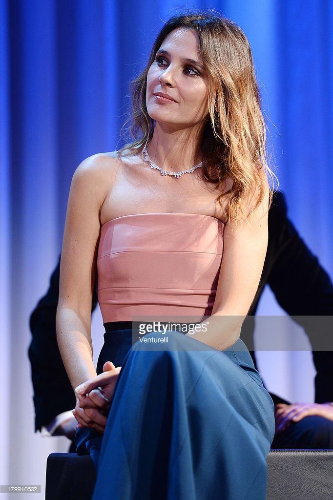 Photo d'actualité : Virginie Ledoyen onstage during the closing...