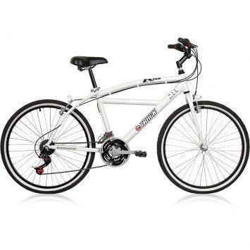 Bicicleta Track Bikes LX 100 Aro 26 21V Branco – Track Bikes - http://batecabeca.com.br/bicicleta-track-bikes-lx-100-aro-26-21v-branco-track-bikes.html