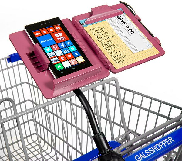 Keep your essentials handy while you shop. The Gals Shopper all-in-one portable shopping organizer clips to the handlebars of most shopping carts, creating a convenient way to organize for any shopping trip. QVC.com