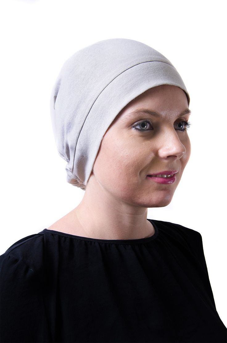 Chemo Beanie in Egyptian Cotton looks great on anyone! #headscarves #cancerpatients #headcovers