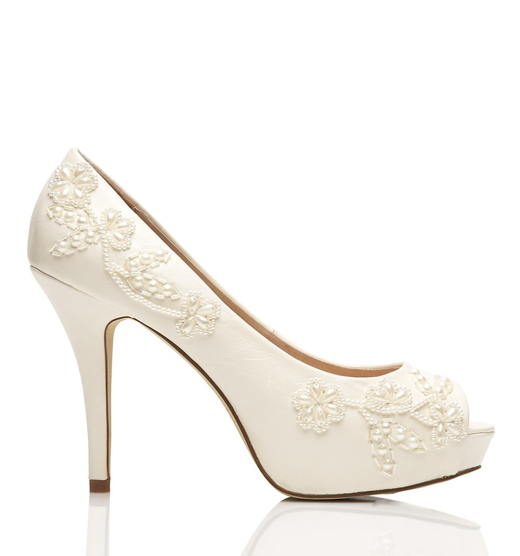 25 Best Ideas About Bridal Shoes Ivory On Pinterest