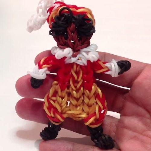 Maak een Loom Zwarte Piet. Leer het in dit FILMPJE!