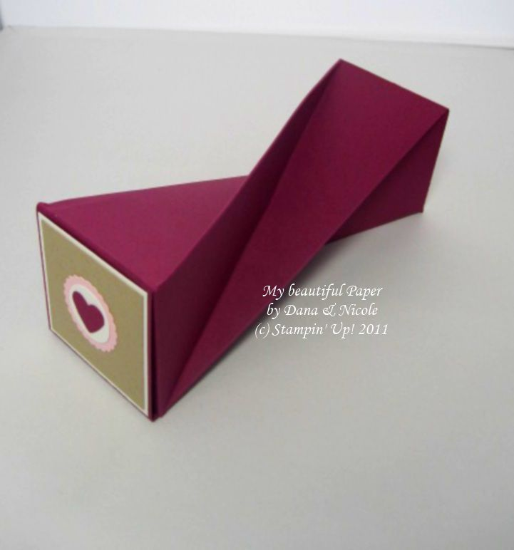 twisterbox - zweiseitig befüllbare verrückt-coole Schachtel :) mit Anleitung!!