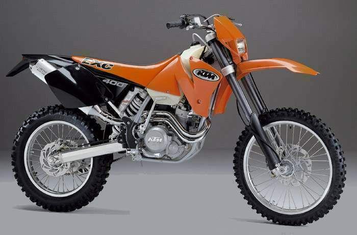 400 EXC, 2000-2001