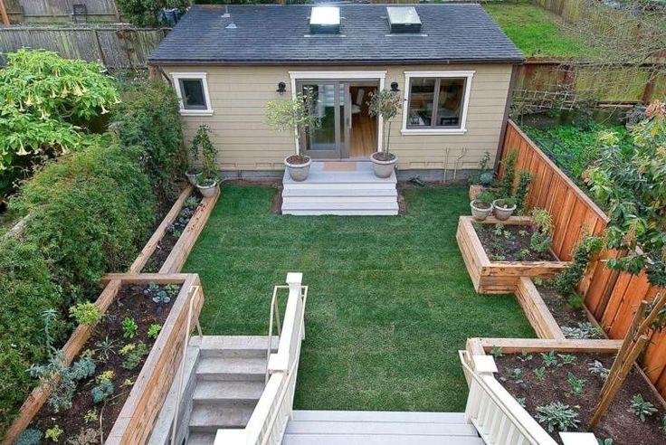 potager en carré surelevé pour jardin