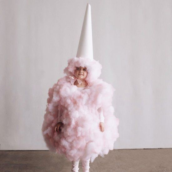 Find out how to make this cute and amazing cotton candy costume for kids.