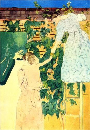 Gathering Fruit - Mary Cassatt