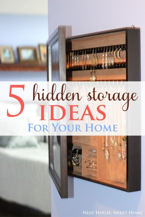 5 hidden storage ideas for your home home storage ideas for Hidden storage ideas