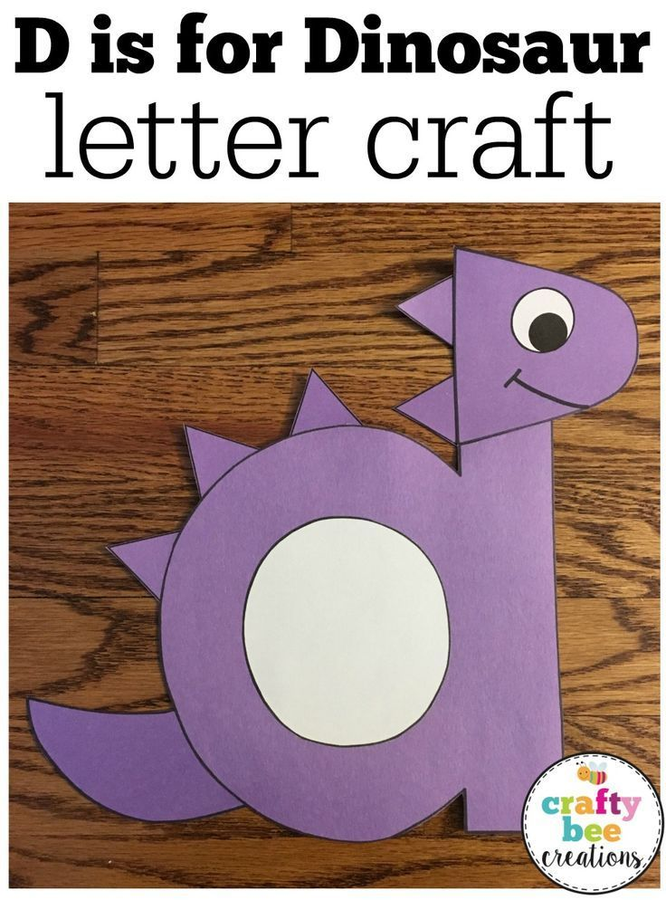 The 25 best letter d crafts ideas on pinterest letter d for Dinosaur crafts for preschool