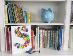 DIY Tutorial DIY Burlap Crafts / DIY Framed Monogram Wall Hanging - Bead&Cord