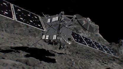 Das Ende naht: Heute wird die europäische Raumsonde Rosetta auf dem Kometen 67P/Tschurjumow-Gerassimenko aufsetzen und dabei zerstört werden. Es ist das Ende einer