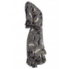Cover Dress Jurk Black Color Artwork