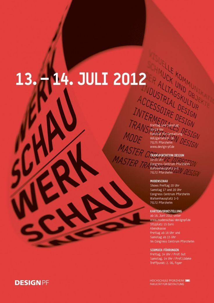 Werkschau der Fakultät für Gestaltung, Hochschule Pforzheim